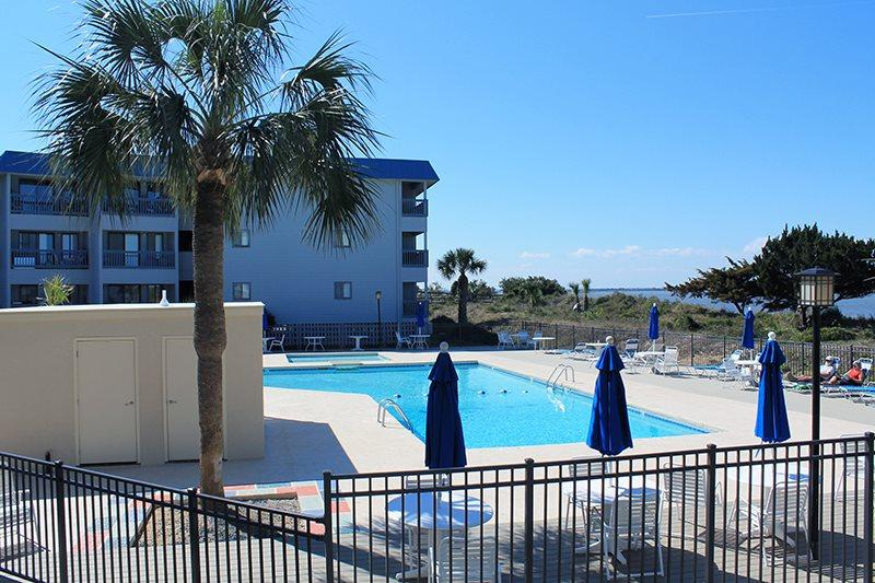 Savannah Beach & Racquet Club Condos - Unit A230 - Water View - Swimming Pool - Tennis - FREE Wi-FI - Image 1 - Tybee Island - rentals