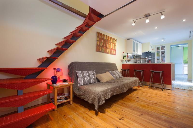 Living Room - LxRoller BairroAlto Duplex Boutique - Lisbon - rentals