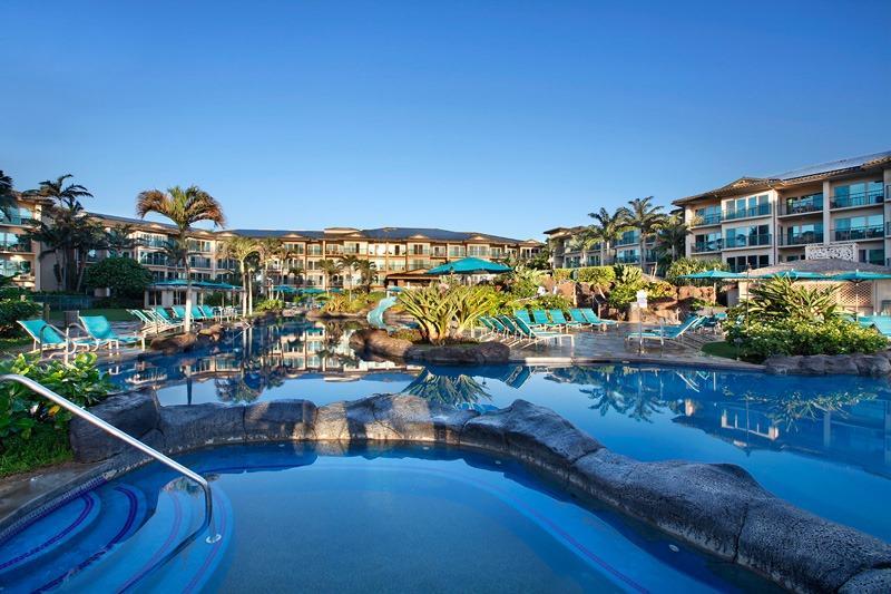 Waipouli Beach Resort Fantasy Pool & Jacuzzi - Waipouli Beach Resort C201 - Kapaa - rentals