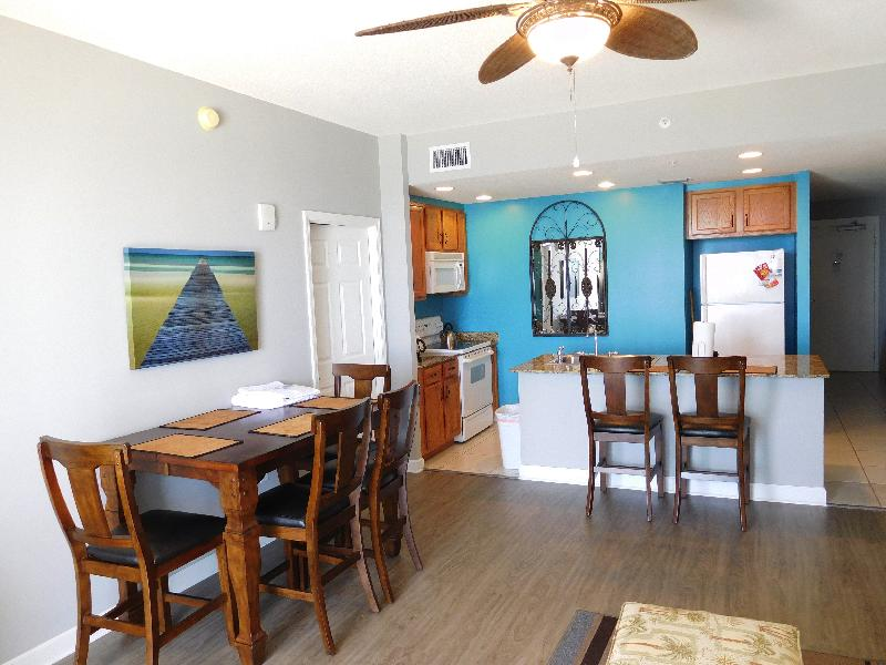 We brought the color of the Emerald Coast into the kitchen. - 0306 Sterling Reef - Panama City Beach - rentals