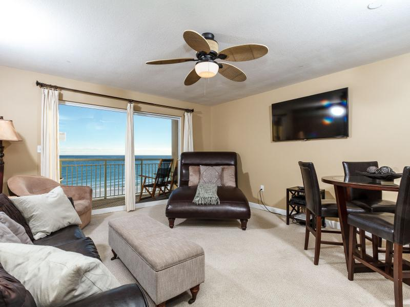Perfect beach getaway! This view could be yours - direct beach front! - PELICAN ISLE - GORGEOUS BEACH FRONT 1 BEDROOM - Fort Walton Beach - rentals