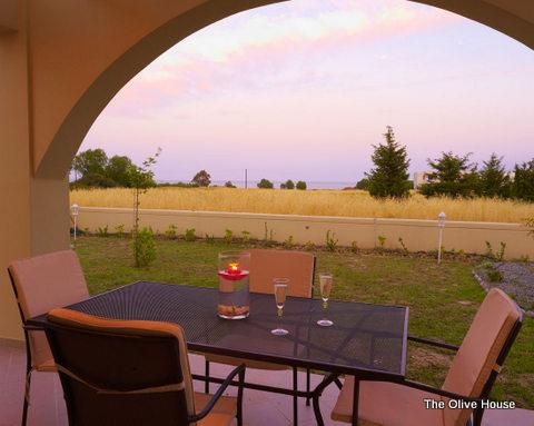 Relax under the sunset....drinking wine - The Trees' Project...Orange or Olive - Gennadi - rentals