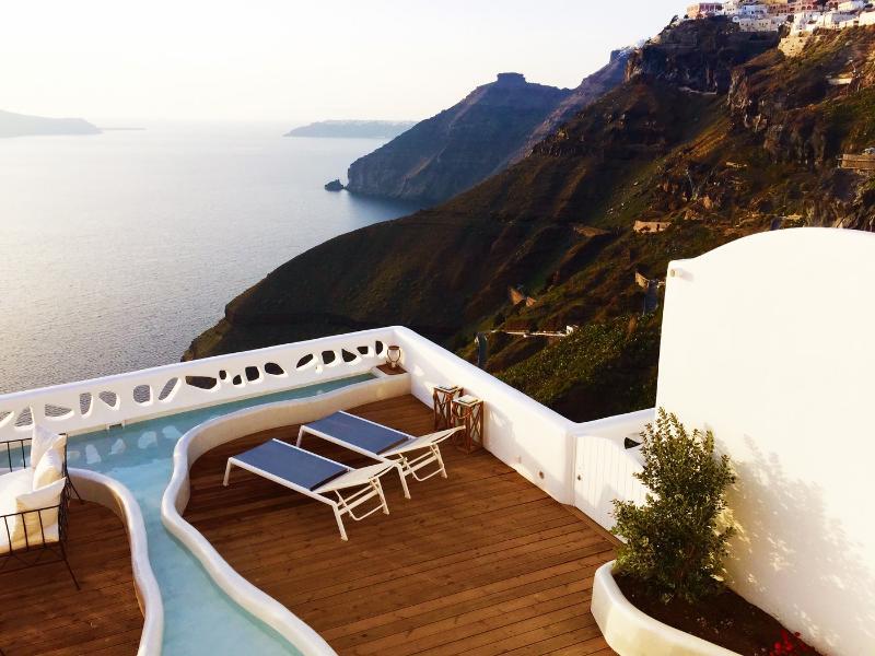Blue Villas| Athina | A luxury villa in Santorini - Image 1 - Fira - rentals