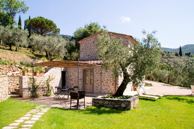 Small Charming Stone Villa near Cortona  - Villa Roland - Image 1 - Cortona - rentals