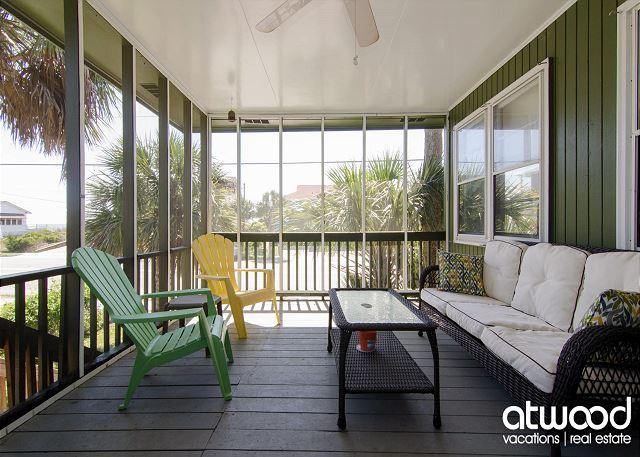 Foster's Ocean View - Ocean Views & Pet Friendly - Image 1 - Edisto Island - rentals