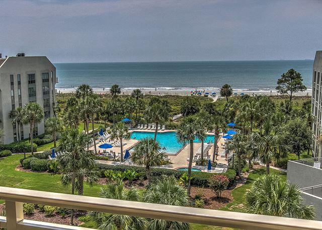 View - 537 Shorewood- 5th floor Oceanfront - Beautiful Oceanfront Views - Hilton Head - rentals