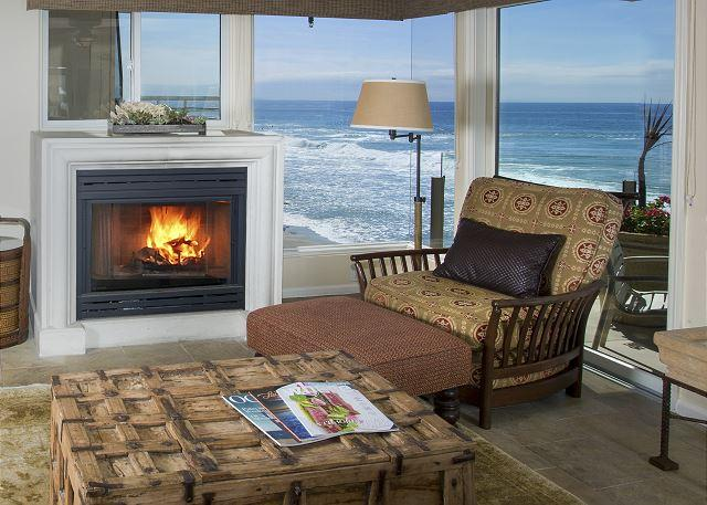 Villas Seychelles Living Room View - 2 Bdrm oceanfront - most sought after unit - get it while you can. - Laguna Beach - rentals
