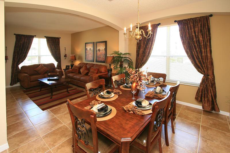 Close to Disney 6 bedroom luxury villa with pool - Image 1 - Four Corners - rentals