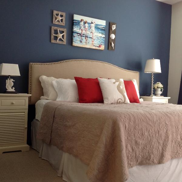 Comfortable King size bed in master bedroom! Relax and unwind. You deserve it! - 2017 Bookings have begun! Reserve your getaway now - Saint Augustine Beach - rentals