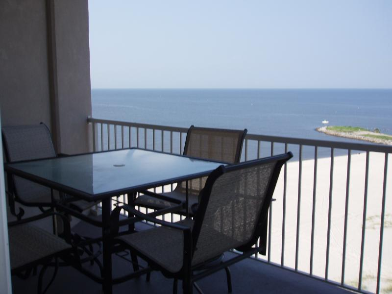 View of Gulf from our Balcony - SEA BREEZE * Only Condo Right on GULF * Casinos! - Biloxi - rentals