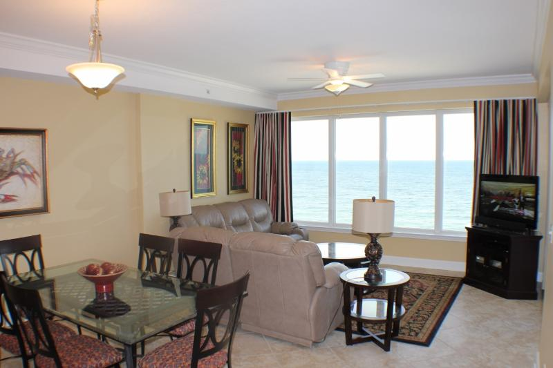 Living Room with a View! - Regency Isle Luxury Penthouse Condo(Last minute discounts) - Orange Beach - rentals