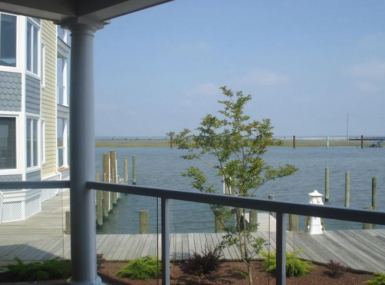 Water View from Private Deck - Sunset Bay Villas - Another Day in Paradise - Chincoteague Island - rentals