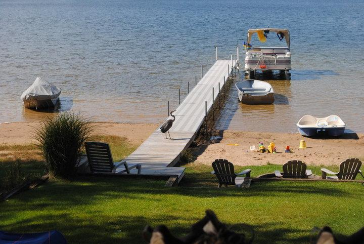 Sandy beach and crystal clear clean lake! - Muskegon's Beautiful Sunsets! Sandy Beach! Pontoon Boat Available!! - Twin Lake - rentals