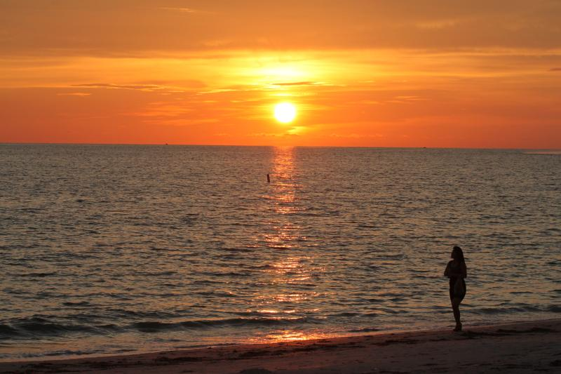 "Beautiful Sunsets! - ""Barb's Beachfront""  Rt on GULF Fantastic Views! - North Redington Beach - rentals"