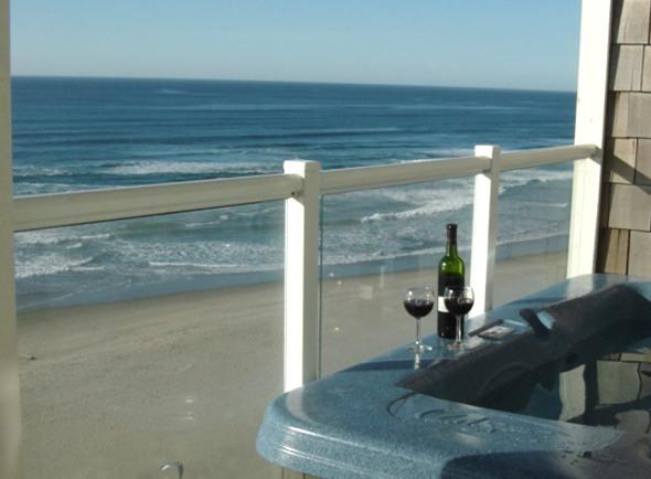 Private Hot Tub on the Deck - Luxury 2 Bdrm Oceanfront w/Hot Tub *FREE NIGHTS* - Lincoln City - rentals