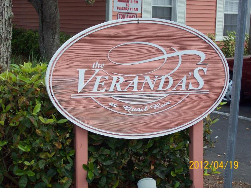 Entrance to Condos - THE VERANDAS @ QUAIL RUN - 2BR/2BA CONDO - Naples - rentals