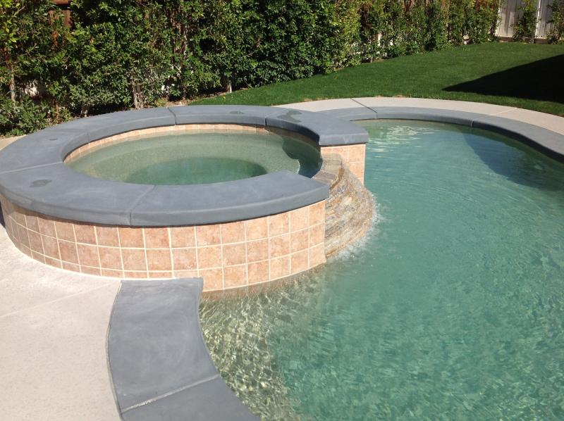 salt pebble tec pool and spa - Palm Springs Pool/Spa Home  Moderism available - Palm Springs - rentals