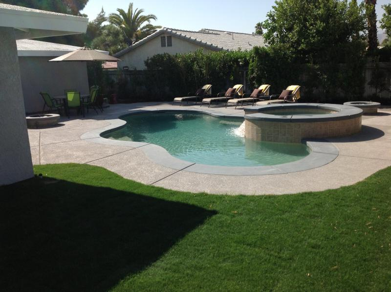 Private back yard - Palm Springs Pool/Spa Home-Last Minute Deals - Palm Springs - rentals