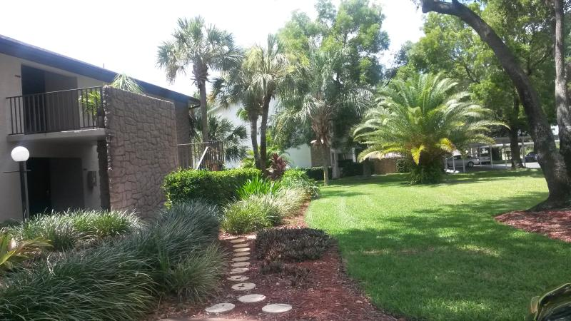Walkway to Ground floor unit - NEWLY RENOVATED LEHIGH ACRES   FORT MYERS AREA 2/2 - Lehigh Acres - rentals