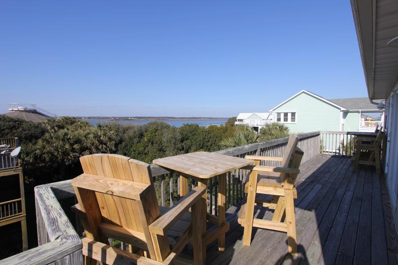 View of the waterway - Ocean & Waterway Views, Easy Beach Access - Holly Ridge - rentals