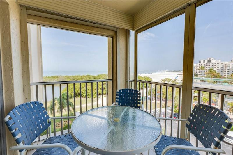 Sand Caper 502, 2 Bedrooms, Gulf Front, Pool, Elevator, WiFi, Sleeps 6 - Image 1 - Fort Myers Beach - rentals