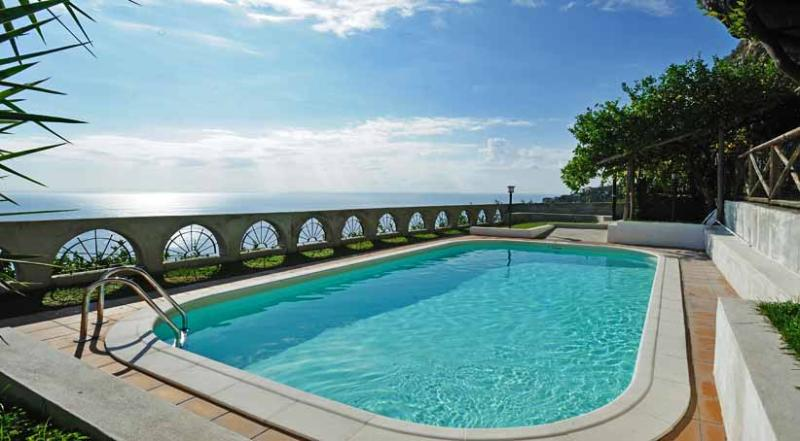 01 Villa Vettica pool area - VILLA VETTICA Vettica/Amalfi - Amalfi Coast - Amalfi - rentals