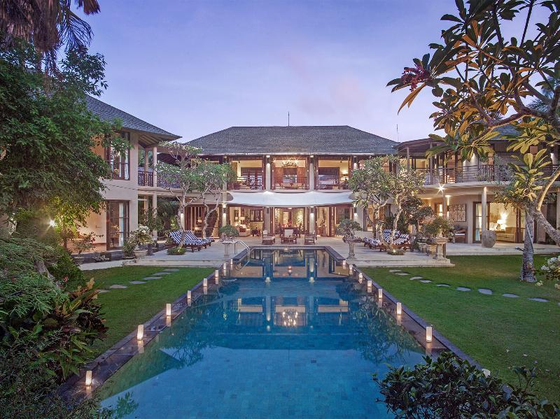 Avalon I - View across pool to villa - Avalon I - an elite haven - Canggu - rentals