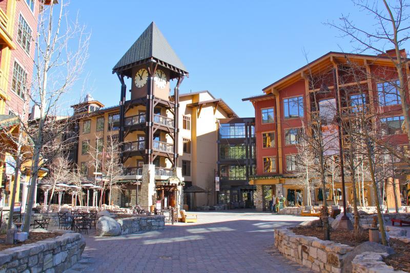 Exterior of Mammoth Village Complex - Cozy 2 BR Condo with Village Views! Top Floor = Quiet! - Mammoth Lakes - rentals