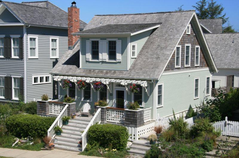 House photo - Ocean Song with carriage house - Ocean view - Pacific Beach - rentals