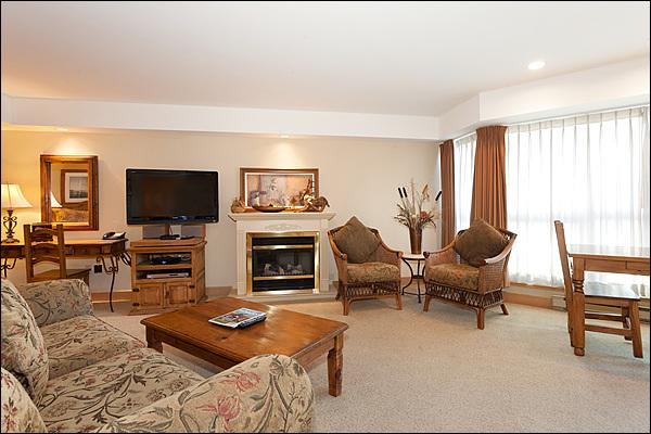 Lovely Typical Studio with  Modern and Clean Living Areas - Great Mountain View - Common Area Outdoor Hot Tub & Pool (4257) - Whistler - rentals