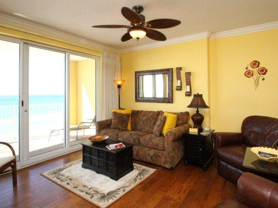 Enjoy FREE BEACH CHAIR SERVICE in this 2 Bedroom located on the 5th floor at Emerald Isle! Near Pier Park! - Image 1 - Laguna Beach - rentals