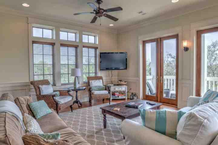 Welcome to Joie De Vivre! A beautiful 4 bedroom, 4.5 bath home located in wonderful Seagrove Beach! - Joie de Vivre - Family Vacation Beach Home! - Seagrove Beach - rentals