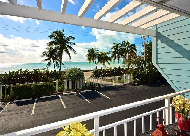 View of Atlantic Ocean From Private Balcony - Beachfront Breeze - Gorgeous Condo w/ Breathtaking Views. Pool & Hot Tub - Key West - rentals