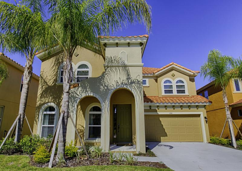 Front of Home - Watersong 6 Bed 5.5 Bath Pool Home (374-WATER) - Orlando - rentals