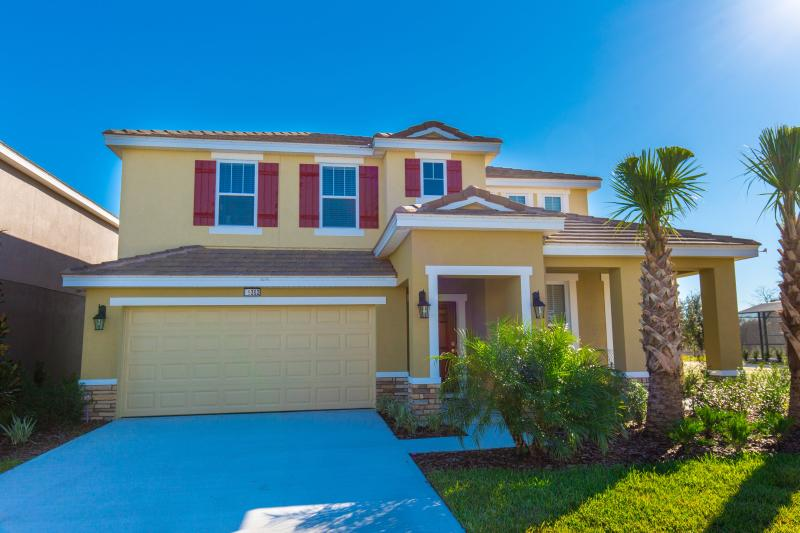 Front of Home - Solterra 5 Bed 4.5 Bath Pool Home (5352-SOLT) - Orlando - rentals