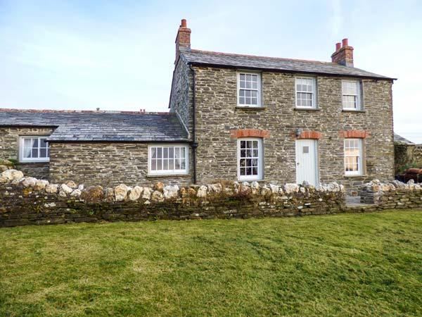 HOME FARM COTTAGE, stone cottage, woodburner, open fire, private garden, Boscastle, Ref 920461 - Image 1 - Boscastle - rentals