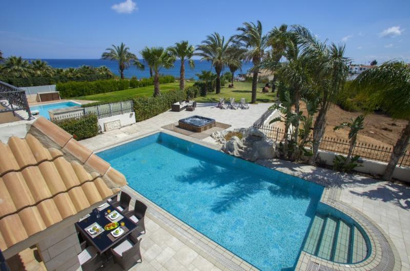 PRBW42 Malama Beachfront Villa - Image 1 - Protaras - rentals