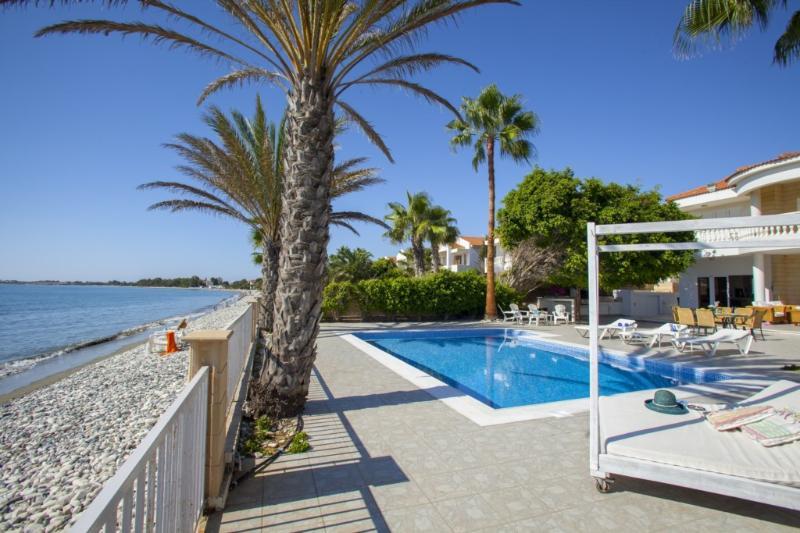 LABG16 Sunset Beacfront Villa Meneou - Image 1 - Larnaca - rentals