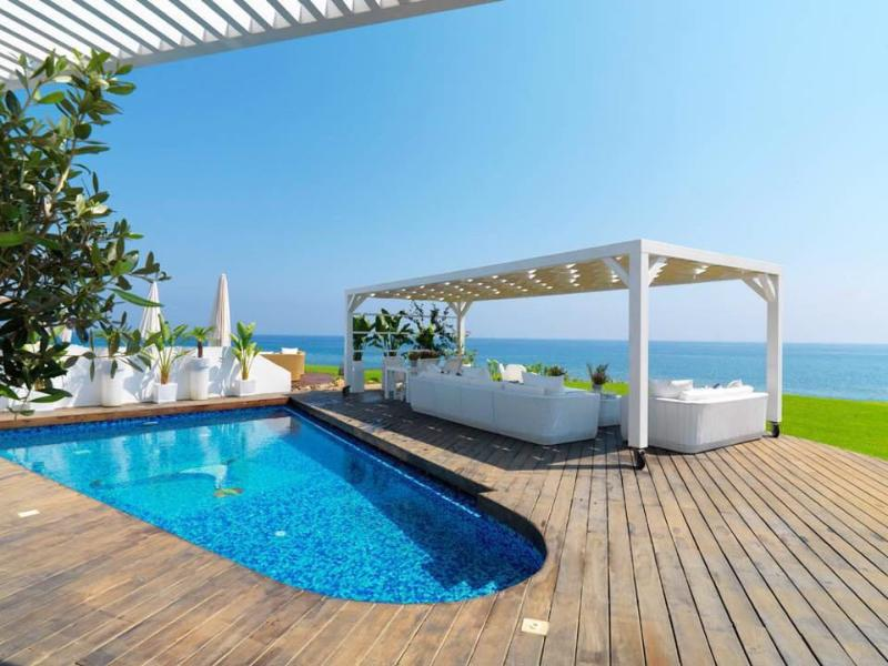 PRAN35 Beachfront Dream Villa - Image 1 - Protaras - rentals