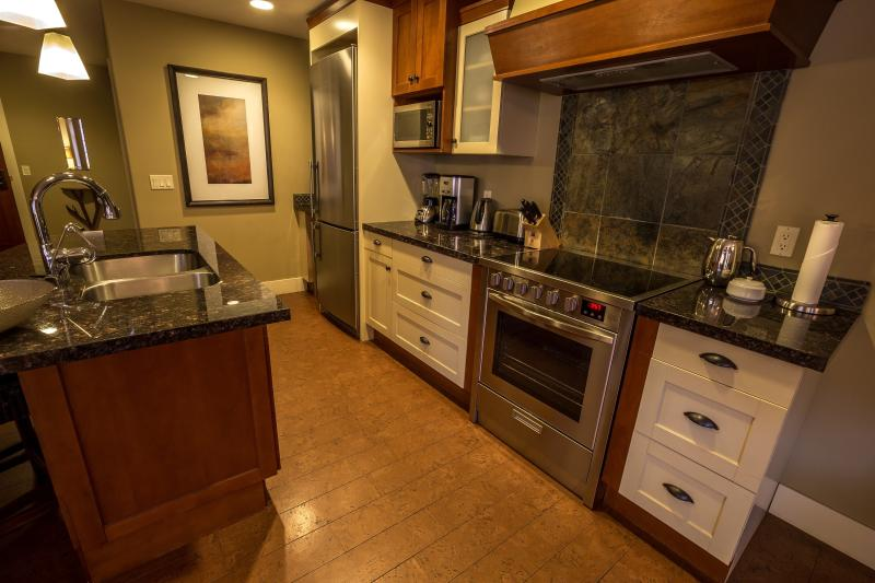 Enjoy preparing meals in the ultra-modern kitchen with leading-edge appliances. - You'll love this 1 Bedroom Luxury Canmore Residence - Canmore - rentals