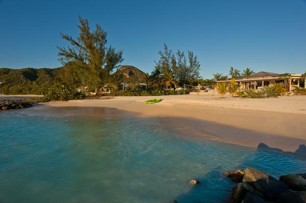 Sand Castle - Luxury Beach House in Jolly Harbour, Antigua - Beachfront, Gated Community, Pool - Image 1 - Jolly Harbour - rentals