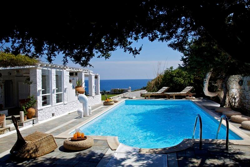 Agia Thalassa Villa-Luxury Villa with Private Pool - Image 1 - Ampelas - rentals