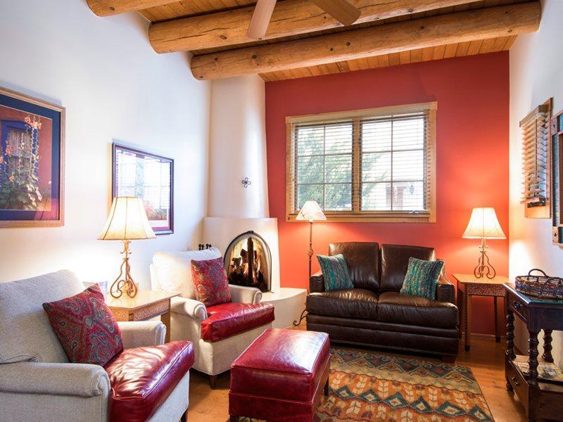 Living Room - Plaza Loft - Santa Fe - rentals