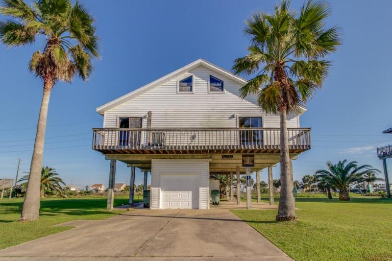 Remodeled oceanview house w/ wrap-around balcony, close to the beach - Image 1 - Galveston - rentals