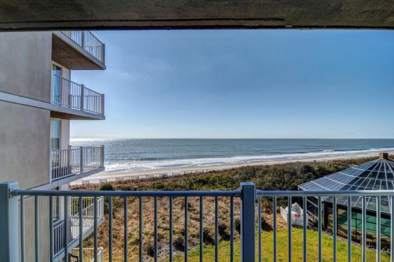 Balcony (View 1) - St Regis 2306 - North Topsail Beach - rentals
