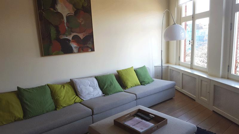 Living Room with Canal View - Canal Side Bed and Breakfast Amsterdam - Amsterdam - rentals