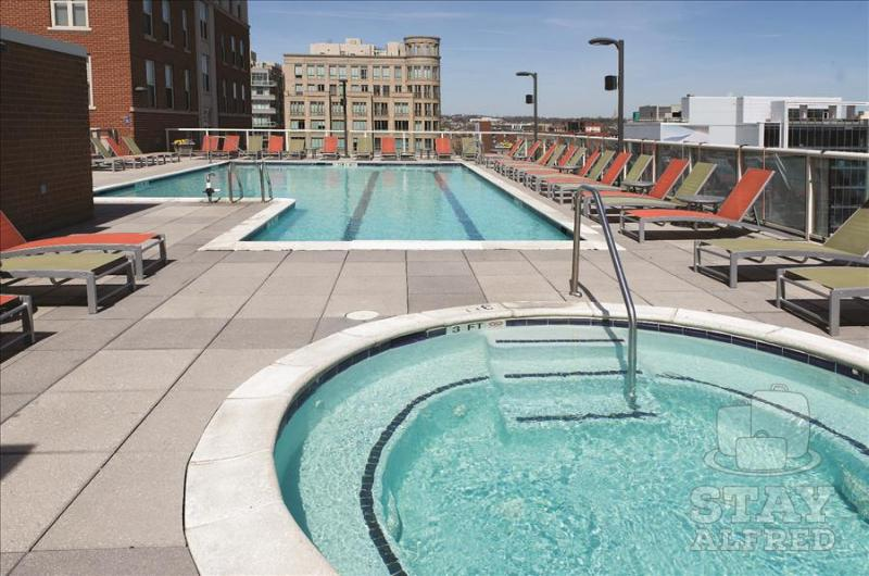 Stay Alfred City Living with a Rooftop Pool MC2 - Image 1 - Washington DC - rentals
