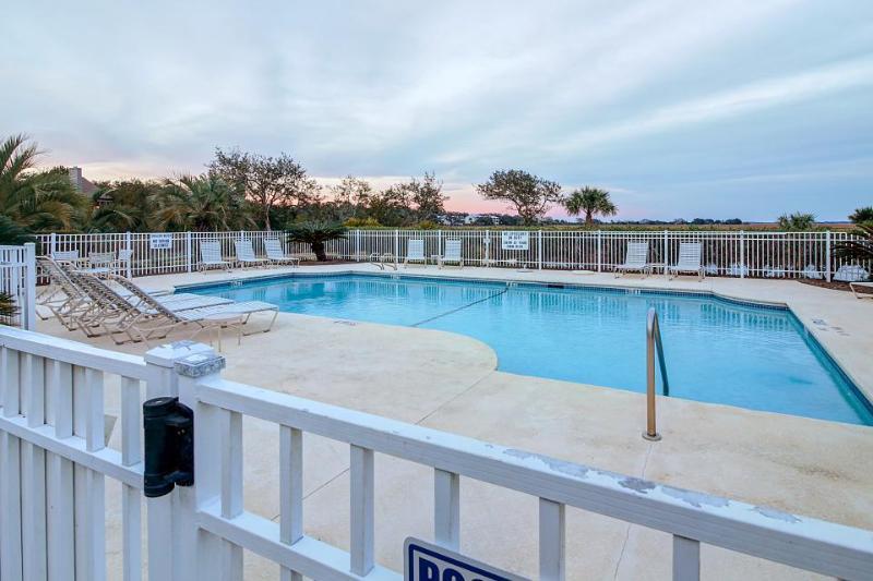 Stylish condo with marsh-facing balcony and shared pool! - Image 1 - Saint Simons Island - rentals