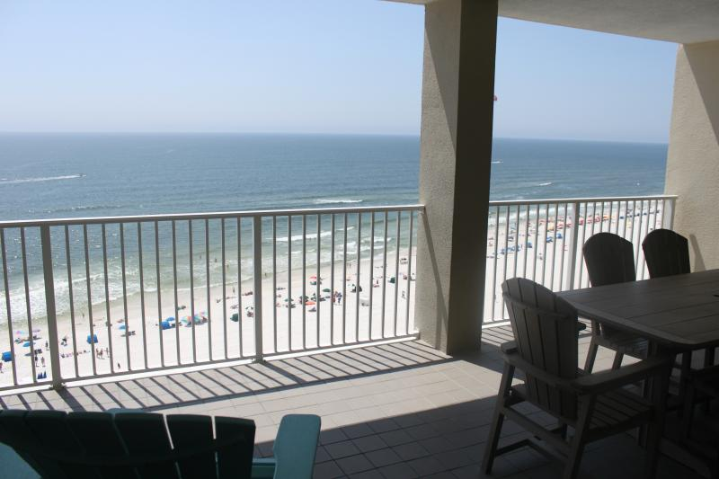 The AMAZING view! picture yourself relaxing! - White Caps 1405 Luxury Condo Beach View! Master Bath has a walk-in Shower - Orange Beach - rentals