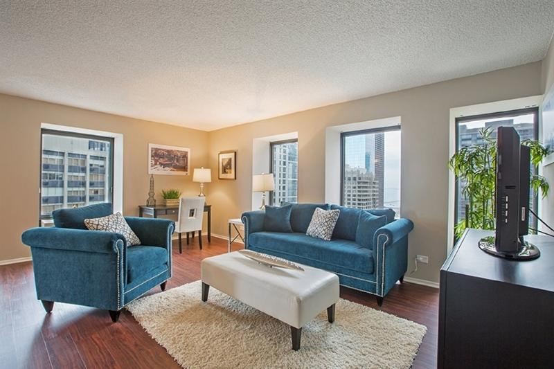 Furnished 1-Bedroom Apartment at N Lake Shore Dr & E Erie St Chicago - Image 1 - Chicago - rentals
